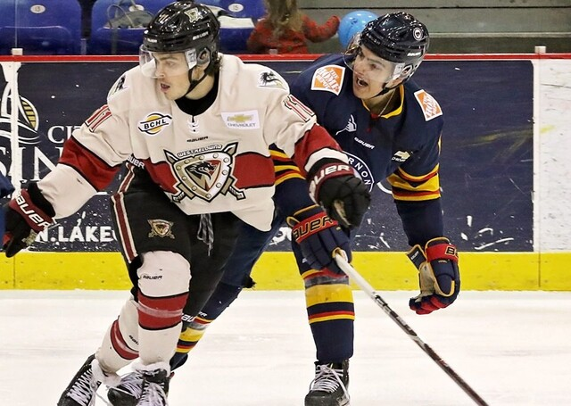 West Kelowna Warriors fell 4-2 in Vernon Saturday - BCHL