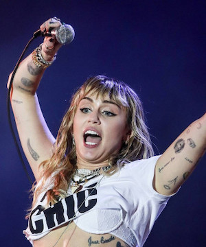 Miley Cyrus launches Bright Minded Instagram chat show after lockdown panic attack.