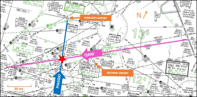 Report released on near miss between planes above Kelowna - Kelowna News