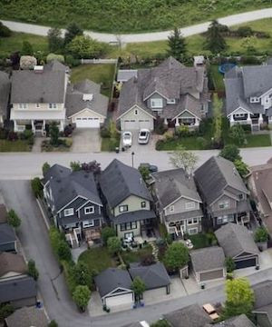 Deferrals on more than 10 per cent of mortgages at Canada's big banks.