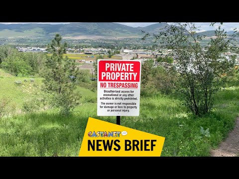 Private property signs posted at Mount Baldy confusing visitors - Kelowna News