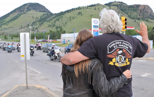 Tribute held for fallen Kamloops motorcycle rider - Kamloops News