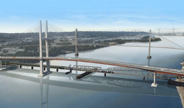 Here is what the new $1.4 billion Pattullo Bridge will look like - BC News
