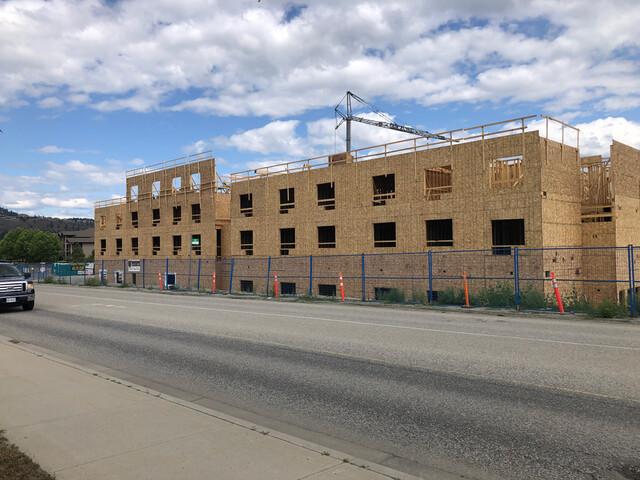 Construction well underway on six-storey, 115 room Marriott - West Kelowna News