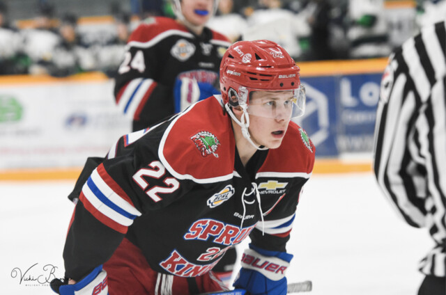 Vees nab championship-level forward (BCHL)