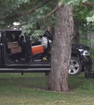 Details on the suspect who rammed the gate of Rideau Hall are coming out.