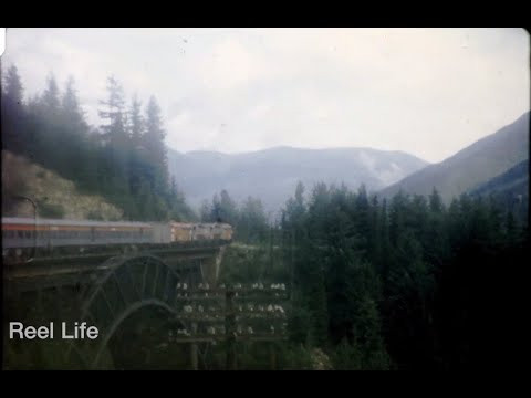 Vintage video shows 'Canadian' train ride from Vancouver to Calgary (Vernon)
