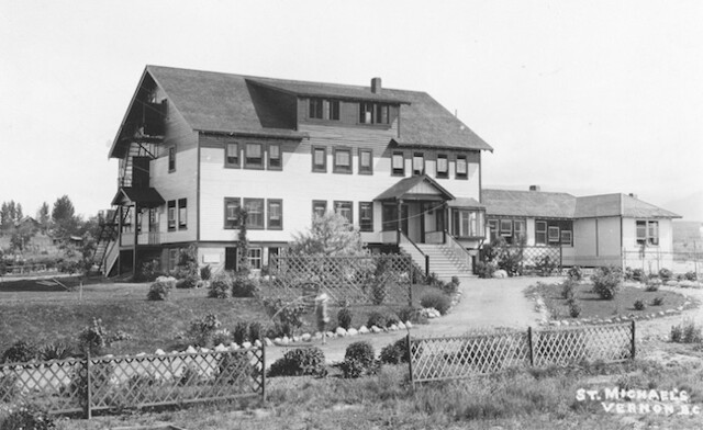Take a look back at Vernon's first boarding school - Vernon News