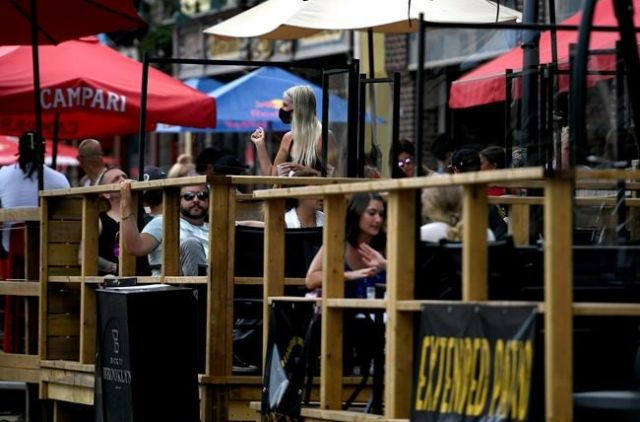 Retailers scramble to keep up with surging demand for patio heaters -... image