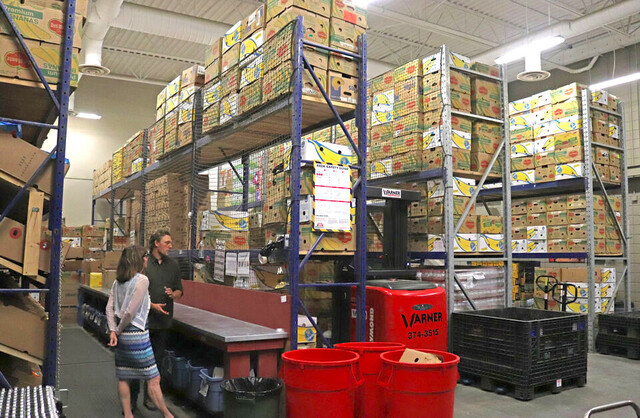 Kamloops Food Bank collects tens of thousands of pounds of food - Kamloops News