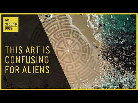 Aerial sand illusions - Around The Web
