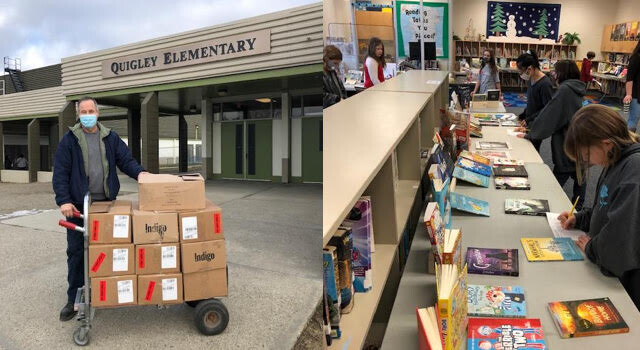 Quigley Elementary wins more than $6,000 in new books from Indigo Love of Reading Foundation - Kelowna News