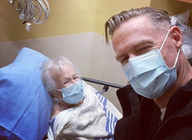 'We love ya': Rock star Bryan Adams thanks B.C. hospital for looking after his mom (BC)