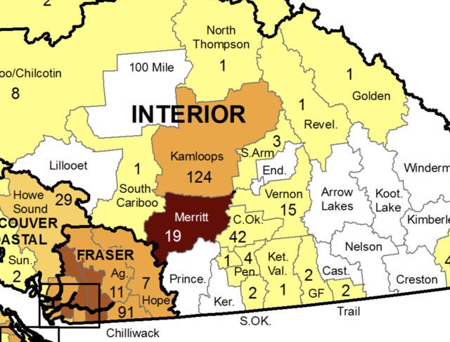 New COVID-19 case counts shot back up in Kamloops area last week (Kamloops)