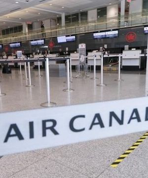 Unifor's Dias says Air Canada pledging passenger refunds as aid negotiations drag on.