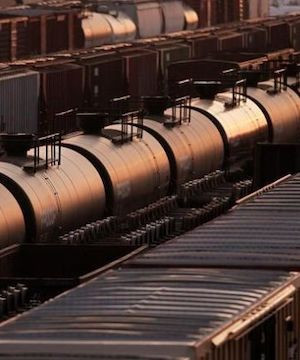 The fierce debate over cross-border pipelines is putting more Canadian oil and gas on trains destined for the United States.