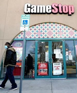 GameStop shares soar again as company takes step toward a more digital future .