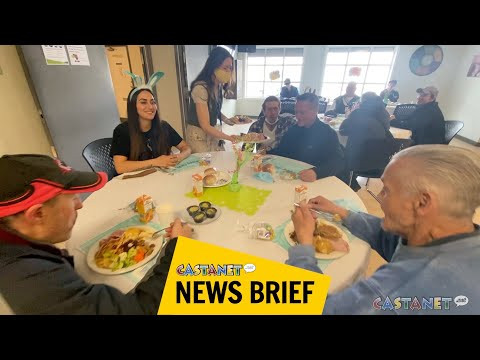Kelowna's Gospel Mission served up its annual Easter meal on Saturday... image