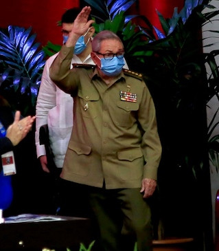 Fidel's brother, Raul Castro announces he's stepping down as head of Cuba?s Communist Party.