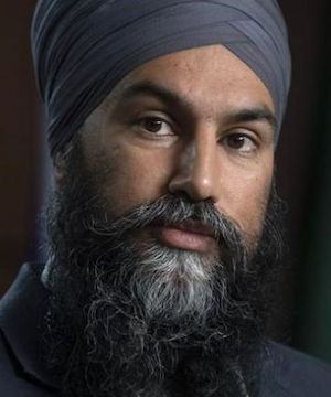 Jagmeet Singh says link exists between anti-maskers and far-right extremism.