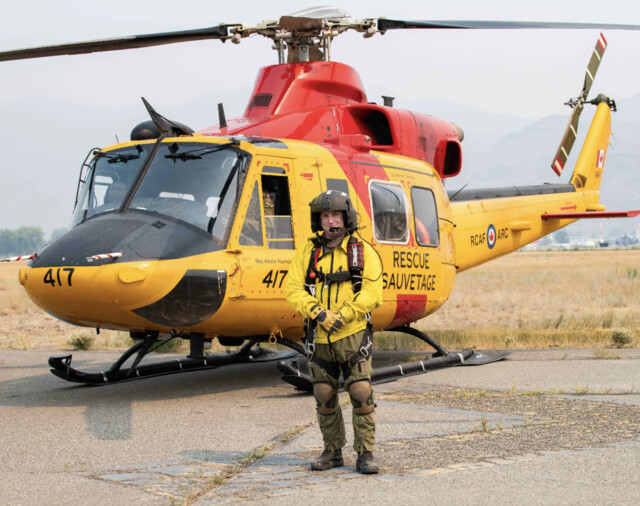 Kamloops-born soldier returns to city with military to help fight wildfires