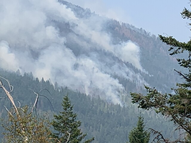 Much of Sun Peaks-area wildfire in mop up, but high temperatures mean fire activity may be more visible