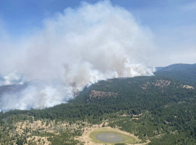 White Rock Lake fire near Westwold sees 'significant growth,' multiple evacuation alerts and orders issued