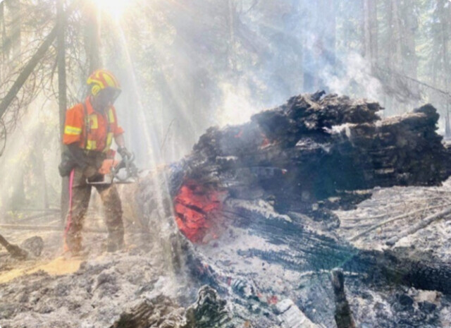 Thomas Creek wildfire still out of control, conditions concerning