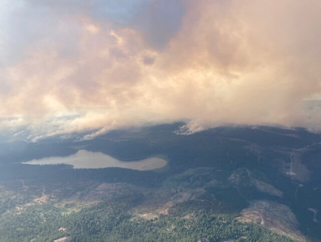 Wildfire in Westwold area now estimated at 20,000 hectares in size