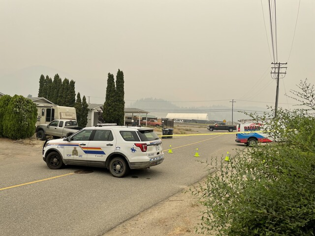 RCMP bomb squad from Vancouver dispatched to West Kelowna