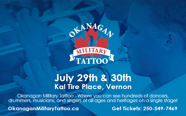 Contest Win Tickets To The Okanagan Military Tattoo