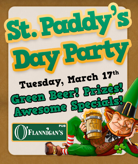 WIN A $50 Gift Certificate To O'Flannigan's Pub