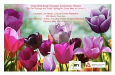 d546de245 Tip toe through the tulips spring art show