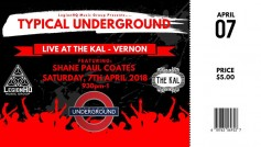 Typical Underground Featuring Shane Coates df5784828d8d