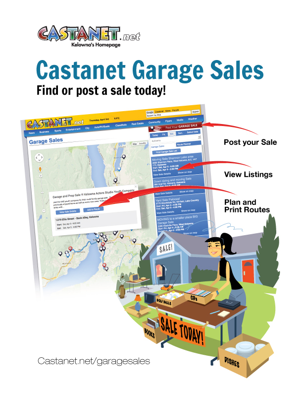 Garage Sales - Castanet net