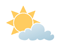 Cloudy except sunny over higher terrain in the morning. Clearing near noon. High plus 3. UV index 1 or low.