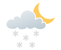 Partly cloudy. 30 percent chance of flurries late this evening. Wind up to 15 km/h. Low minus 4. Wind chill minus 3 this evening and minus 8 overnight.